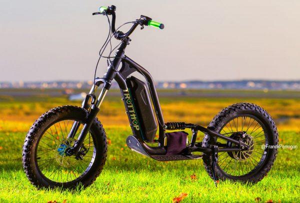 Trotthop TroTTE201 une roue motrice